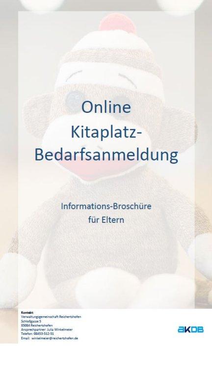 KiTaPlatz Bedarfsanmeldung - Informationsbroschüre für Eltern